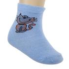 Носки для девочки S-63, цвет голубой, размер 20-22