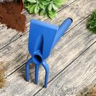 Мотыжка комбинированная, длина 32 см, пластик, цвет МИКС