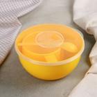 Дорожный набор посуды на 1 персону, цвет МИКС