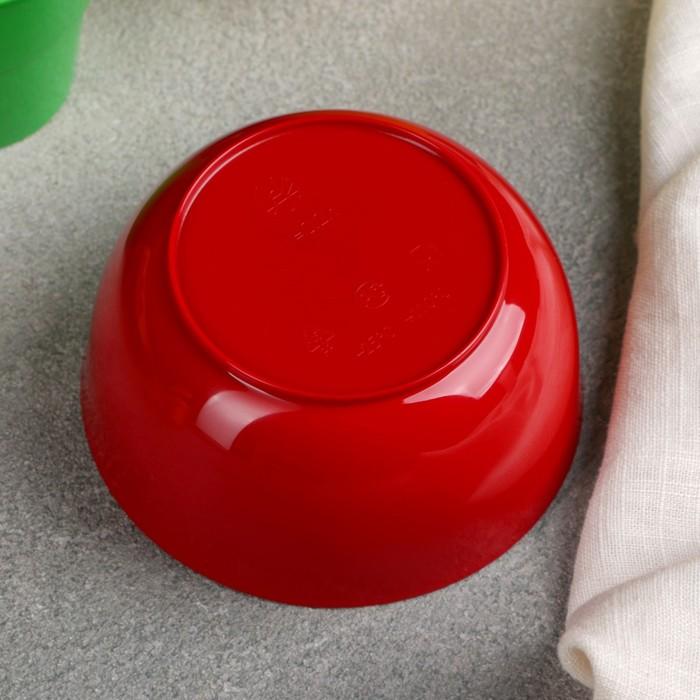 Набор посуды на 3 персоны в мягком футляре, цвет МИКС