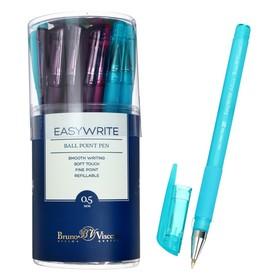 Ручка шариковая EasyWrite Creative, узел 0.5 мм, синие чернила, матовый корпус Silk Touch, МИКС
