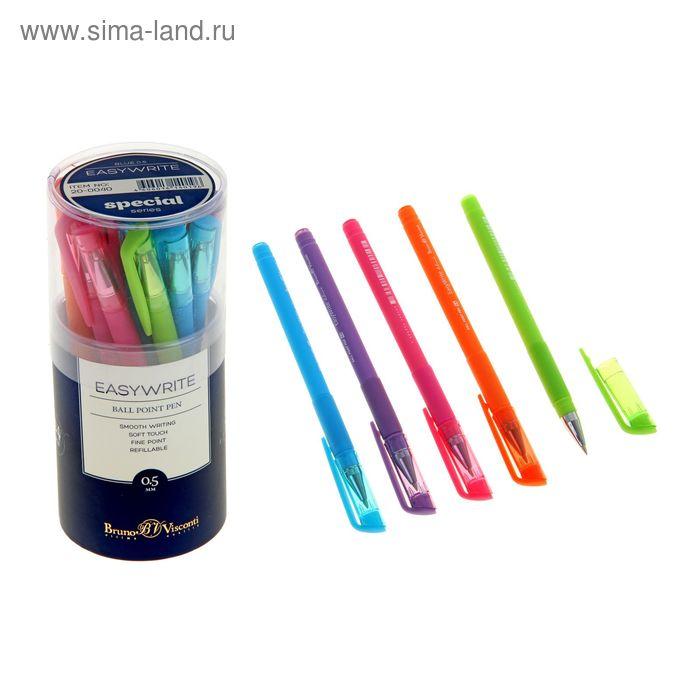 Ручка шариковая Bruno Visconti EasyWrite.SPECIAL, узел 0.5 мм, чернила синие, микс