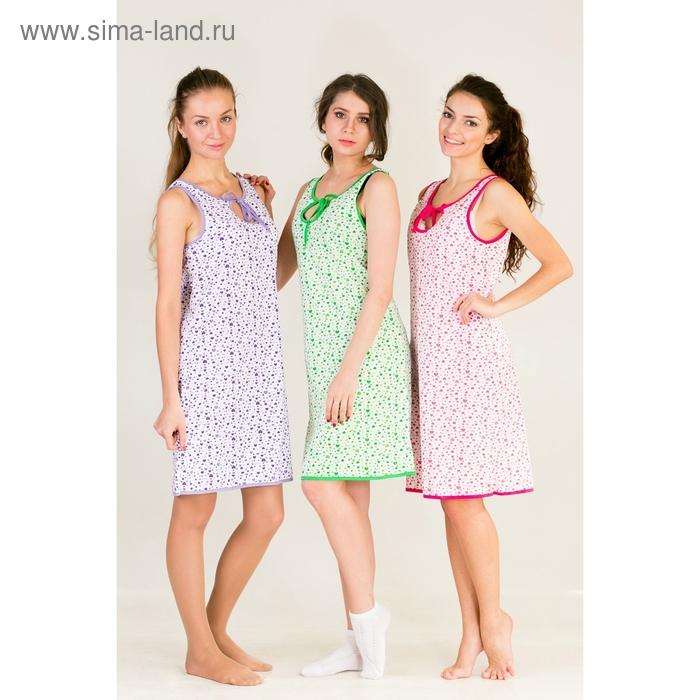 Сорочка женская Капля МИКС р-р 50