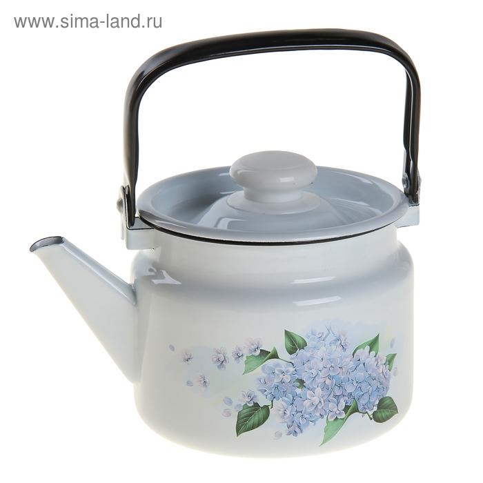 "Чайник 2 л ""Цветы сирени"", цвета МИКС"
