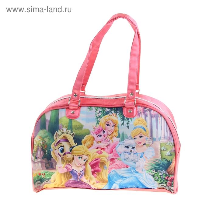 """Сумочка детская для девочки Disney """"Принцесса"""" 34*21.5*13 см"""