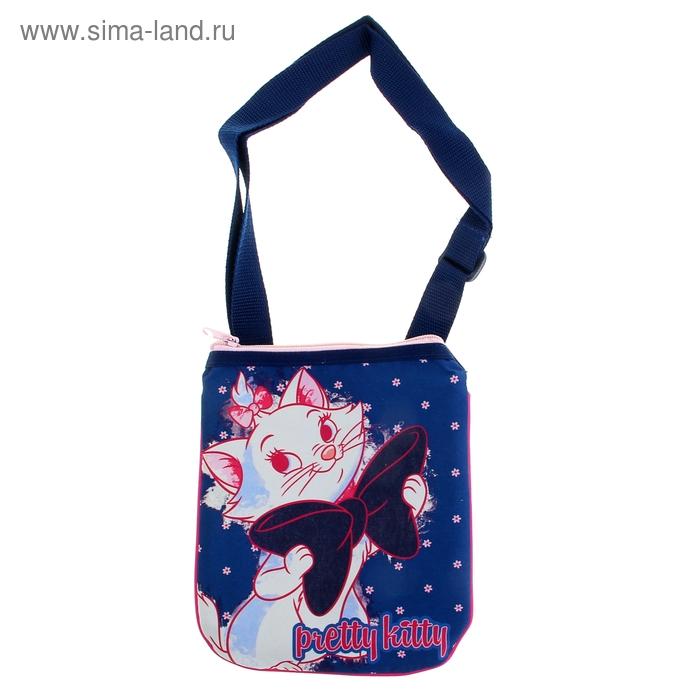 Сумочка детская для девочки Disney Marie Cat 21.5*18.5*1 см