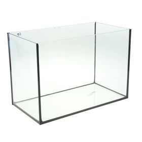 Аквариум прямоугольный без крышки, 50 литров, 51 х 27 х 35 см