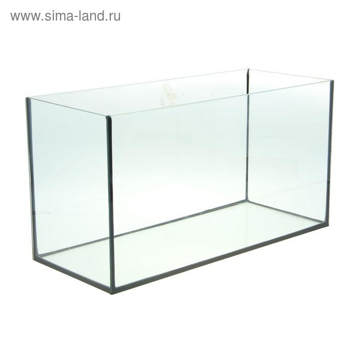 Аквариум  прямоугольный 75 л 69*29*37 см, без крышки