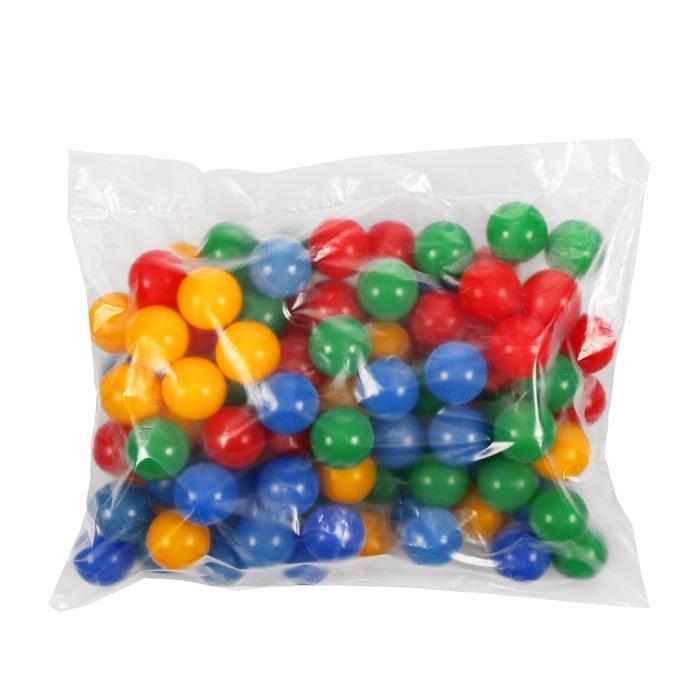 Шарики для сухого бассейна, диаметр шара 5 см, набор 100 шт.