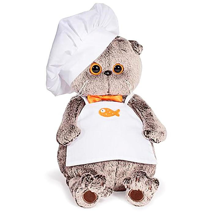 Мягкая игрушка «Басик шеф-повар», 19 см - фото 1060654