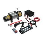 Лебедка электрическая TUNDRA, 12/24V, 6000 lb (2.7 т), 3 л.с., до 8.5 м/мин, 7.2 мм х 24 м - фото 1598572