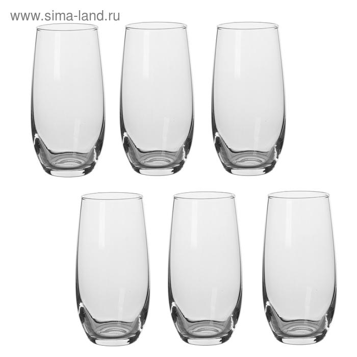 Набор стаканов 400 мл для коктейля, 6 шт