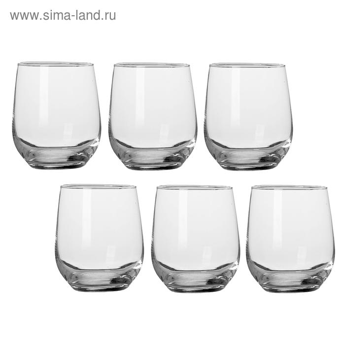 Набор стаканов для виски 280 мл, 6 шт