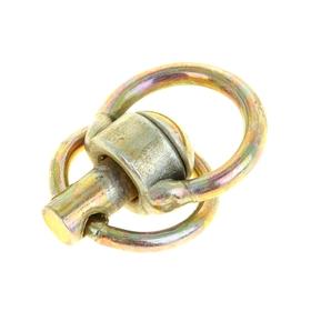 Вертлюг с кольцом, малый, общая длина 6,2 см, длина кольца 3,7 см, толщина проволоки 0,3 см Ош