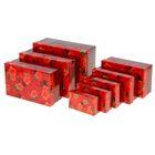 """Набор подарочных коробок 8 в1 """"Розы"""", 46,6 х35,2 х17,5 см"""