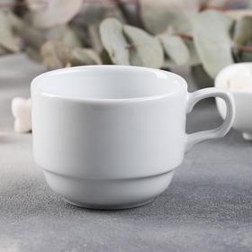 """Чашка чайная 200 мл """"Браво"""", штабелируемая"""