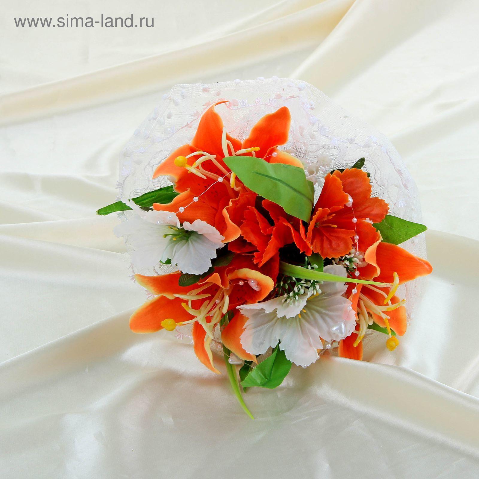 oranzhevie-lilii-buket-podsolnuhov-svoimi-rukami
