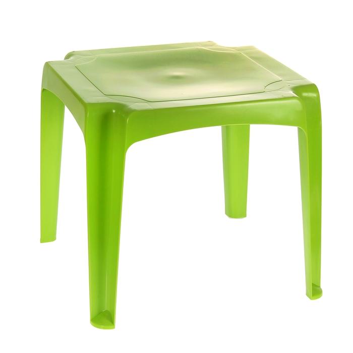 Детский стол, цвет зелёный