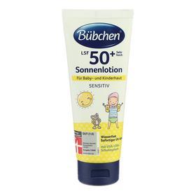Молочко солнцезащитное Bubchen для младенцев, SPF 50+, 100 мл