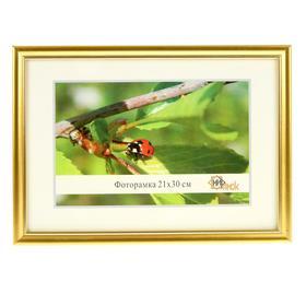 Frame for photo 21x30 cm Simple Golden