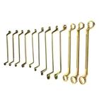 Набор ключей накидных TUNDRA basic, холдер, желтый цинк, 12 шт, 8-32 мм