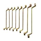 Набор ключей накидных TUNDRA basic, холдер, желтый цинк, 8 шт, 8-22 мм