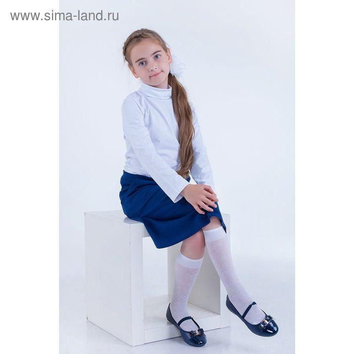 Водолазка детская, рост 110 см, цвет белый