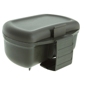 Ch-5 worm box under the belt, 2 compartments, 13x10x7.5 cm.