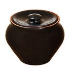 Горшочек для запекания чёрный янтарь 0,7 л