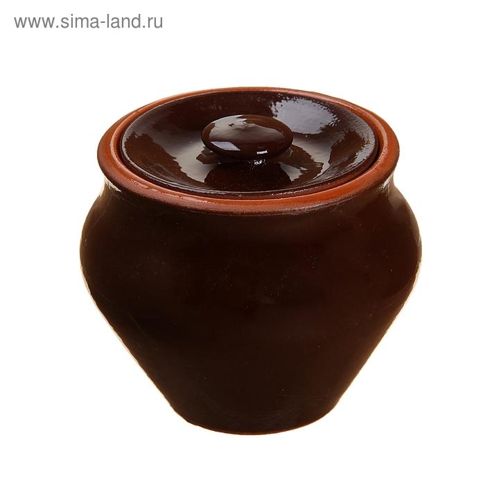 Горшочек для запекания шоколад 0,25 л