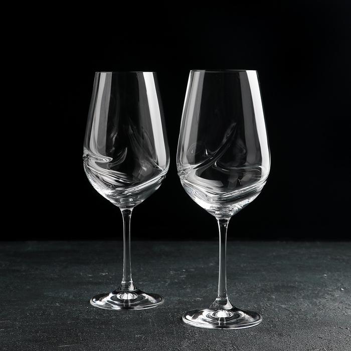 """Набор бокалов для вина 550 мл """"Турбуленция"""", 2 шт"""
