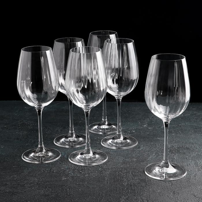 """Набор бокалов для вина 350 мл """"Виола"""", 6 шт"""