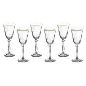 Набор бокалов для вина «Анжела», 185 мл, 6 шт.