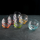 Набор стаканов для виски Crazy, 390 мл, 6 шт - фото 1598901