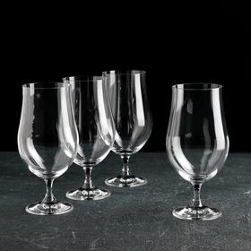 Набор бокалов для пива Bohemia Crystal Bohemia Crystal «Бар», 380 мл, 4 шт