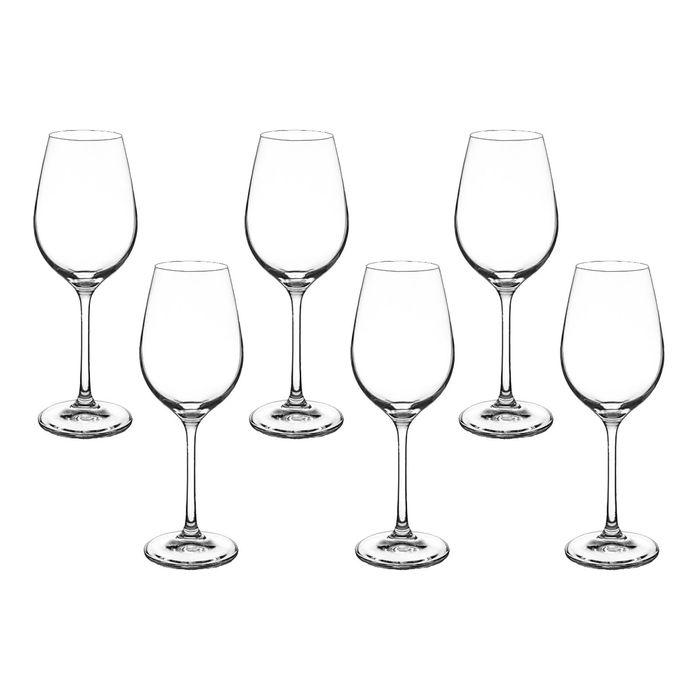 """Набор бокалов для вина 250 мл """"Виола"""", 6 шт"""