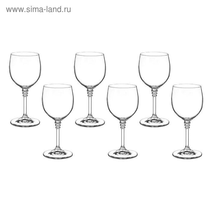 """Набор бокалов для вина 240 мл """"Оливия"""", 6 шт"""