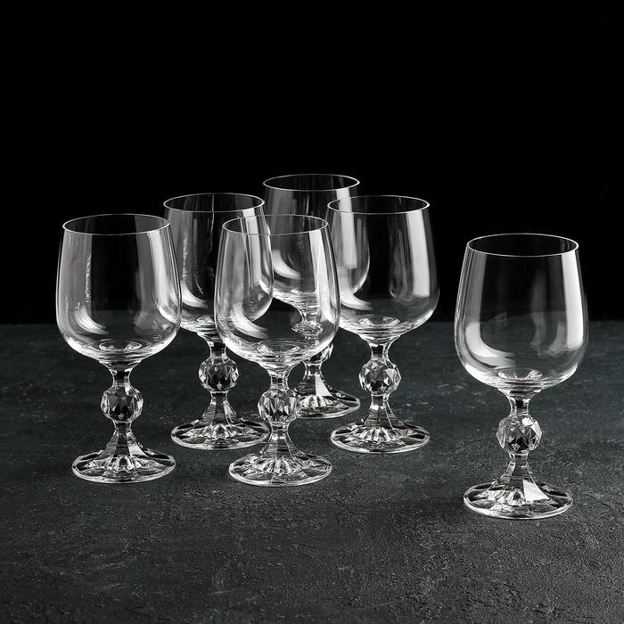 """Набор бокалов для вина 230 мл """"Клаудия"""", 6 шт"""