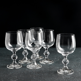 """Набор бокалов для вина 190 мл """"Клаудия"""", 6 шт"""