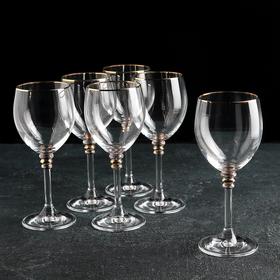 Набор бокалов для вина Bohemia Crystal «Оливия», 200 мл, 6 шт