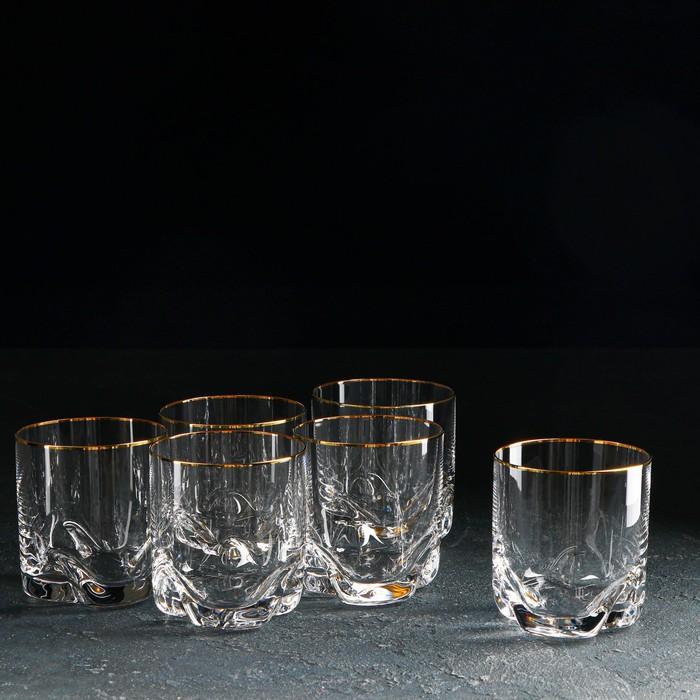 """Набор стаканов для виски 280 мл """"Барлайн"""", 6 шт"""