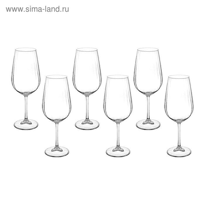 """Набор бокалов для вина 550 мл 6 шт """"Виола"""""""