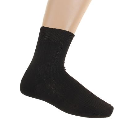 Носки мужские, размер 25, цвет черный МК-210