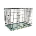 Клетка № 5 для собак и кошек, 91 х 61 х 71 см, чёрная