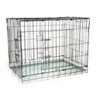 Клетка № 7 для собак и кошек, 118 х 76 х 88 см, чёрная
