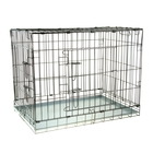 Клетка для собак и кошек № 7, 118 х 76 х 88 см, черная