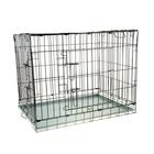 Клетка для собак и кошек № 6, 107 х 71 х 81 см, черная