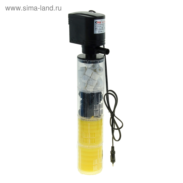 Фильтр аквариумный внутр. камерный Sea Star с бионап. 40W 3500 л/ч HX-1580F
