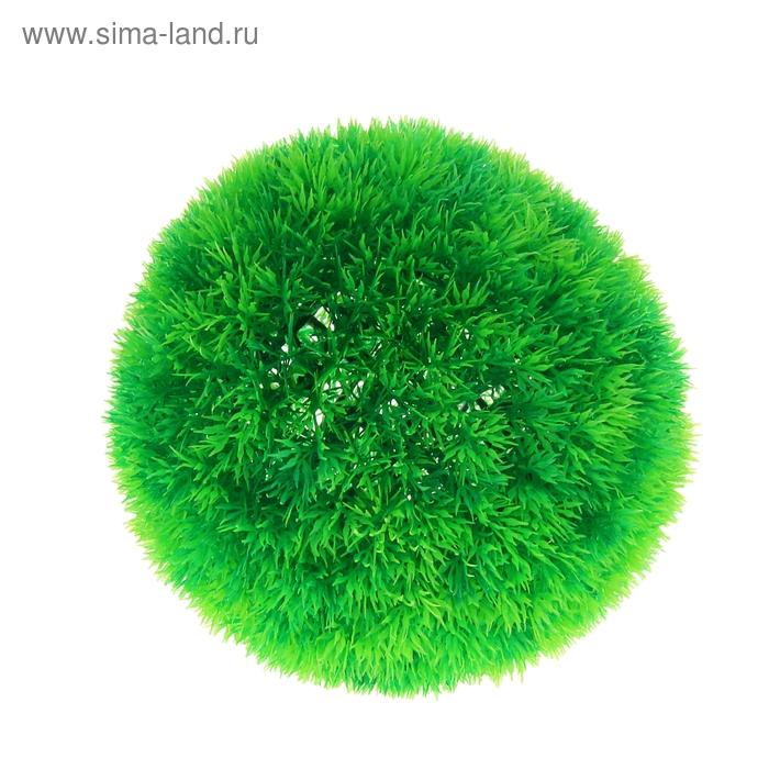 Растение пластиковое Пушистый шар XL, 16 см AD7333