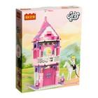 Конструктор «Девчонки: принцесса в замке», 167 деталей